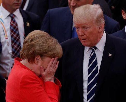 Trump & Merkel